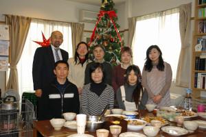 クリスマス礼拝後の愛餐(食事会)