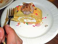 特製の生ロールケーキ☆